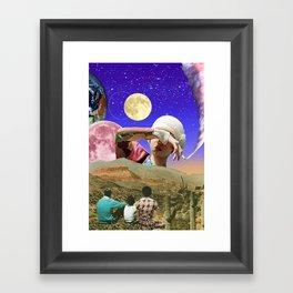 subtle hurricanes Framed Art Print