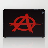 sons of anarchy iPad Cases featuring Anarchy by ArtSchool