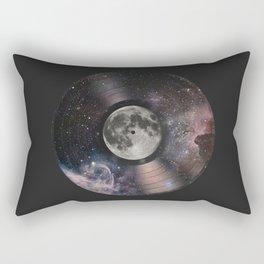 L.P. (Lunar Phonograph) Rectangular Pillow
