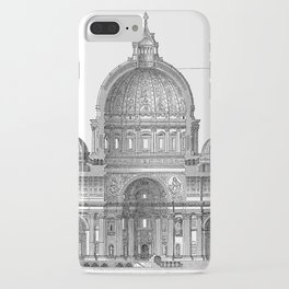St. Peter Basilica - Rome, Italy iPhone Case