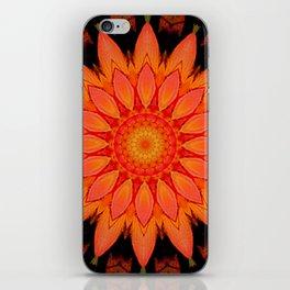 Kaleidoskop Blume iPhone Skin