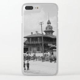 Pensacola, Florida 1900 Clear iPhone Case