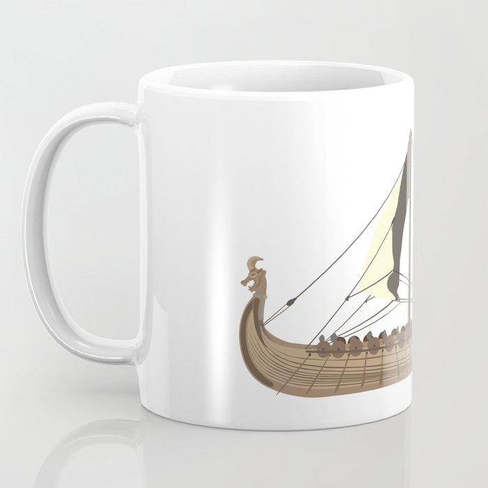 Viking Ship Drakkar Coffee Mug By Norsetech Society6