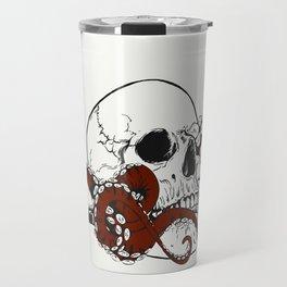 Skull octopus Travel Mug