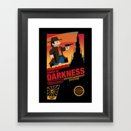 Tower of Darkness Framed Art Print