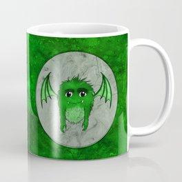 Little Monster Illustration Monster with Wings Green monster SBDesigns Coffee Mug