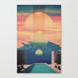 Sunrise Evolve Canvas Print