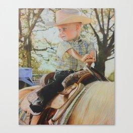 Future Rider Canvas Print