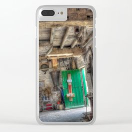 New Hall Water Mill Clear iPhone Case