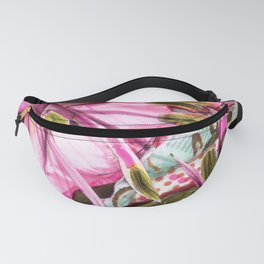 Pinkness Blooms Fanny Pack