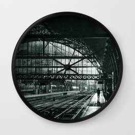 train station Wall Clock