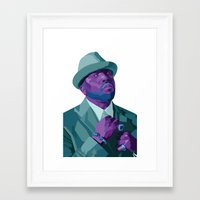 outkast Framed Art Prints featuring Big Boi by kablab