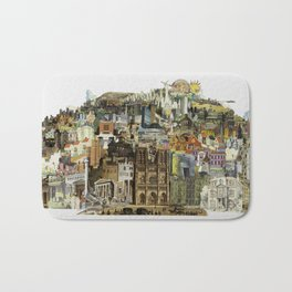 Dream City Bath Mat