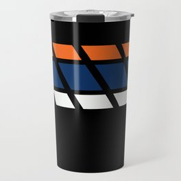 Team Colors...blue,orange Travel Mug