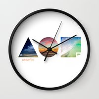 the 100 Wall Clocks featuring 100 by Sylvain Garcia