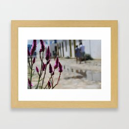 Walking with Beauty Framed Art Print