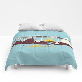 Magical Minimalism Comforters