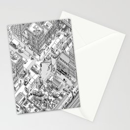 MacPaint project: NYC Stationery Cards