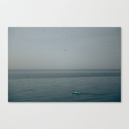 The fisherman's boat Canvas Print