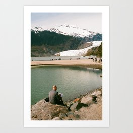 Glacial Bliss II Art Print