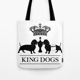 king dogs premium race Tote Bag