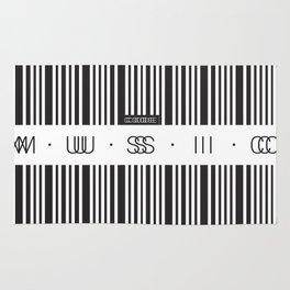 Music Code Rug