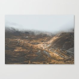 Death Road, Bolivia II Canvas Print