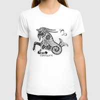 capricorn T-shirts featuring Capricorn by Anna Shell