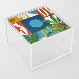Geo Alphabet #1 Acrylic Box