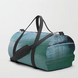Alaska Blue Iceberg Pristine Wilderness Duffle Bag