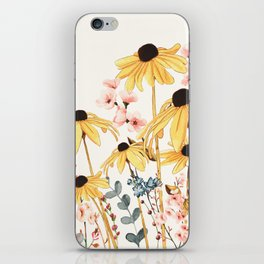 Summer Flowers iPhone Skin