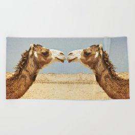 Love and Affection Beach Towel