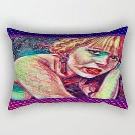 Morte Di Tachygraphy Rectangular Pillow