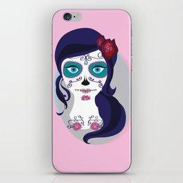 Sugar Skull iPhone Skin