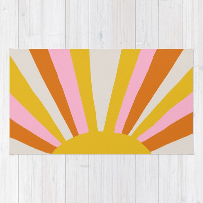sunshine state of mind Rug