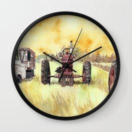 Retirees Wall Clock