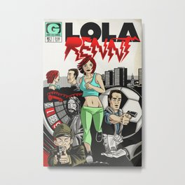 Bargain bin: Run Lola Run Metal Print
