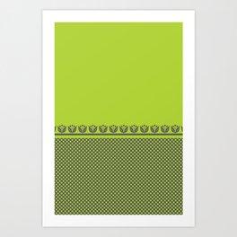 Chartreuse Spring Art Print