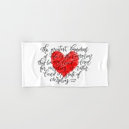 We Are Loved Hand & Bath Towel