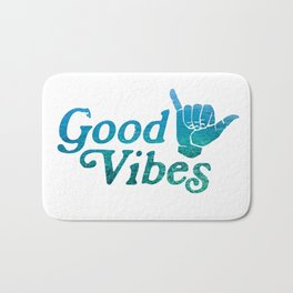 Good Vibes Shaka Bath Mat