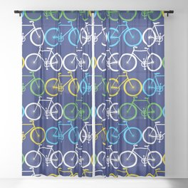 Bicycle Sheer Curtain