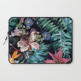 Flowers Tropical Laptop Sleeve
