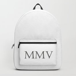 Roman Numerals - 2005 Backpack