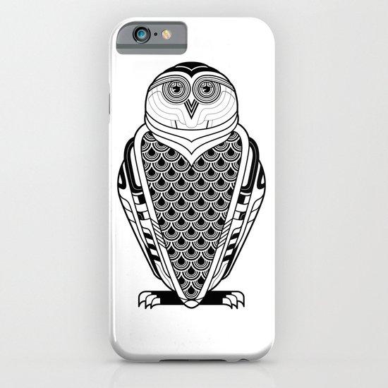 Snowy Art Deco iPhone & iPod Case