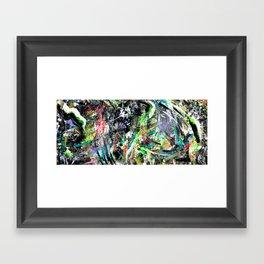 Three Months // Local Natives Framed Art Print