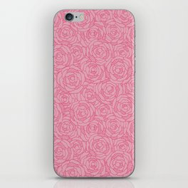 Modern Blossom - Coral Sugar iPhone Skin