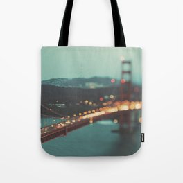 San Francisco Golden Gate Bridge, Sweet Light Tote Bag