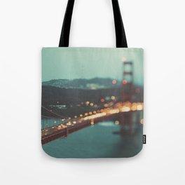 San Francisco Golden Gate Bridge photo, Sweet Light Tote Bag