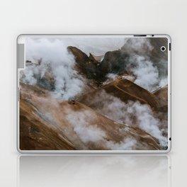 Kerlingjarfjöll smoky Mountains in Iceland - Landscape Photography Laptop & iPad Skin