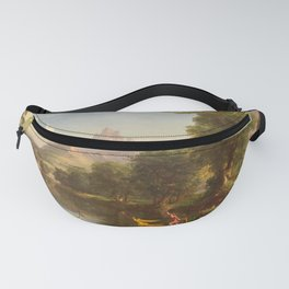The Voyage of Life Youth Painting by Thomas Cole Fanny Pack